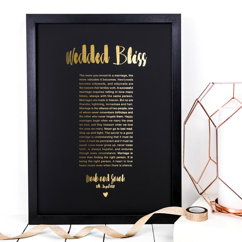Coulson Macleod bespoke A3 prints - Wedded Bliss - Sartorial Boutique and Gifts