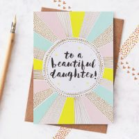 Jessica Hogarth - daughter card - sartorial boutique and gifts
