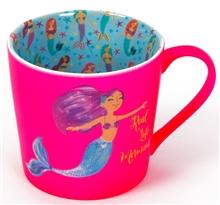 Hot Pink Mermaid mug - Sartorial Boutique and Gifts