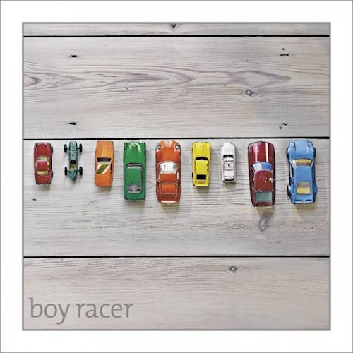 boy racer card - Sartorial Boutique and Gifts
