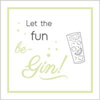 let the fun be gin card - sartorial boutique and gifts