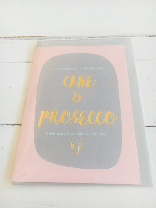 Kate Guest greeting cards - Cake & Prosecco - Sartorial Boutique and Gifts